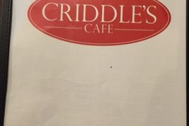 Criddle's Cafe Review