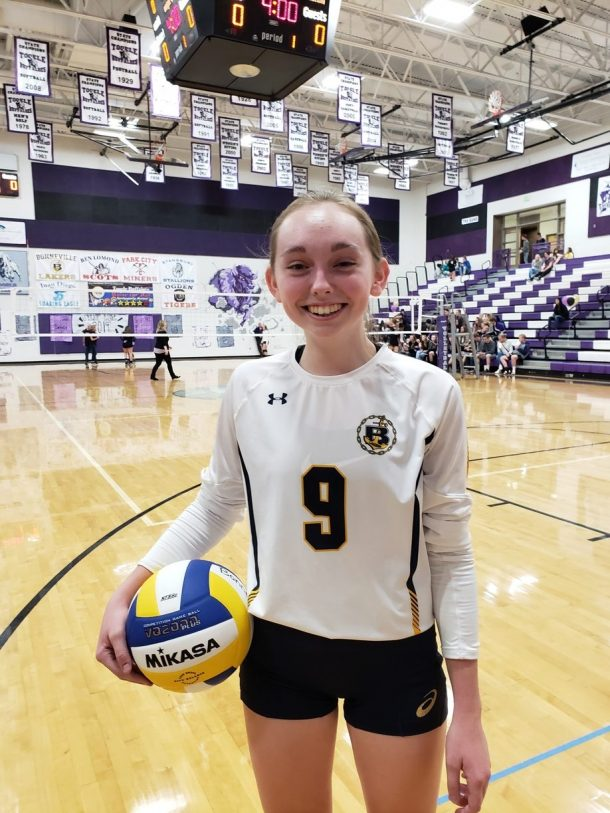 Jenna Hansen: Spiking Her Way into Laker Athletics